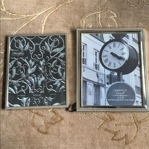 NWOT Pair of Silver Tone 8 x 10 Frames